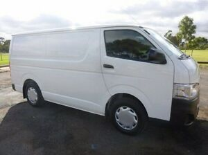 2013 Toyota Hiace White Automatic Van Coburg North Moreland Area Preview
