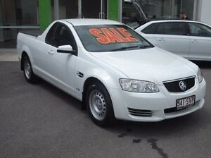 2012 Holden Ute VE II MY12 Omega White 6 Speed Sports Automatic Utility Mount Gravatt Brisbane South East Preview