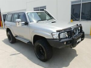 2016 Nissan Patrol MY14 ST (4x4) Silver 5 Speed Manual Coil Cab Chassis Singleton Heights Singleton Area Preview