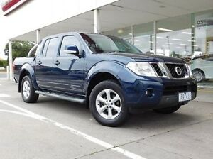 2014 Nissan Navara D40 S6 MY12 ST 4x2 Blue 6 Speed Manual Utility Hadfield Moreland Area Preview