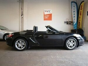 2006 Porsche Boxster 987 MY07 Black 5 Speed Sports Automatic Convertible Highett Bayside Area Preview
