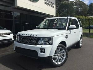 2016 Land Rover Discovery Series 4 L319 MY16.5 SDV6 HSE White 8 Speed Sports Automatic Wagon Coffs Harbour Coffs Harbour City Preview