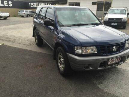 2002 Holden Frontera MX (4x4) Blue 5 Speed Manual Wagon Maidstone Maribyrnong Area Preview