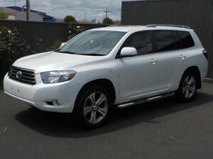2009 Toyota Kluger GSU45R KX-S AWD White 5 Speed Sports Automatic Wagon Mount Gambier Grant Area Preview