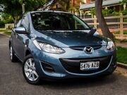 2013 Mazda 2 DE10Y2 MY13 Neo Blue 4 Speed Automatic Hatchback West Hindmarsh Charles Sturt Area Preview
