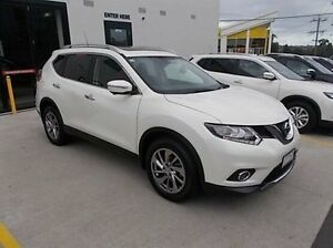 2016 Nissan X-Trail T32 Ti X-tronic 4WD White 7 Speed Constant Variable Wagon Burwood Whitehorse Area Preview