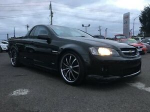 2010 Holden Ute Black Manual Utility Hoppers Crossing Wyndham Area Preview