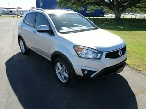 2015 Ssangyong Korando C200 MY15 SX 2WD Silver 6 Speed Automatic Wagon Hyde Park Townsville City Preview