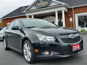 2014 Chevrolet Cruze 2LT RS, Leather Heated Seats, Sunroof, NAV,