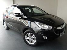 2011 Hyundai ix35 LM MY11 Elite AWD Black 6 Speed Sports Automatic Wagon Mount Gambier Grant Area Preview