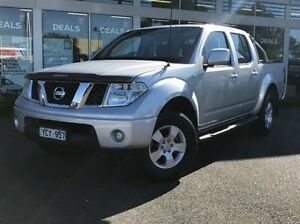 2010 Nissan Navara D40 ST Silver 6 Speed Manual Utility Meadow Heights Hume Area Preview