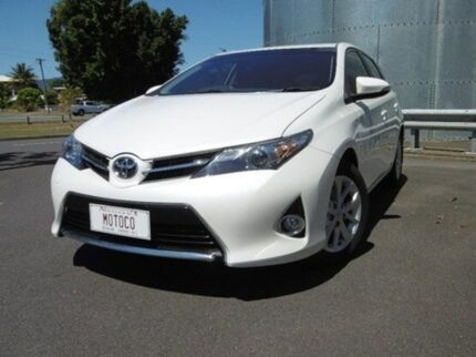 2012 Toyota Corolla ZRE182R Ascent Sport White 6 Speed Manual Hatchback Bungalow Cairns City Preview