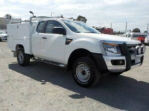 2013 Ford Ranger White Manual Cab Chassis Pakenham Cardinia Area Preview