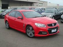 2013 Holden Commodore VF MY14 SV6 Red 6 Speed Sports Automatic Sedan Coolaroo Hume Area Preview