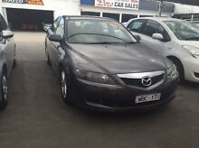 2007 Mazda 6 GG1032 Classic Grey 5 Speed Sports Automatic Sedan Maidstone Maribyrnong Area Preview
