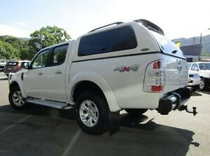 2010 Ford Ranger PK XLT Crew Cab White 5 Speed Automatic Utility Earlville Cairns City Preview