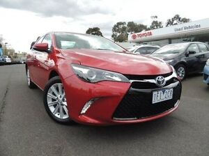 2015 Toyota Camry ASV50R Atara S Red 6 Speed Sports Automatic Sedan Oakleigh Monash Area Preview