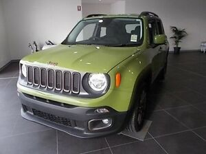 2016 Jeep Renegade BU MY16 75th Anniversary DDCT Green 6 Speed Sports Automatic Dual Clutch Mitchell Bathurst City Preview