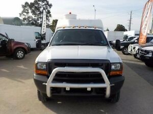 2003 Ford F350  White Automatic Cab Chassis Pakenham Cardinia Area Preview