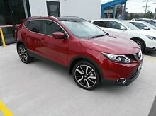 2016 Nissan Qashqai J11 TI Red 1 Speed Constant Variable Wagon Burwood Whitehorse Area Preview