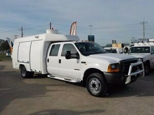 2001 Ford F450  White Automatic Cab Chassis Pakenham Cardinia Area Preview
