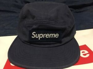 Supreme Military Camp Hat - Navy