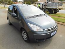 2006 Mitsubishi Colt RG MY06.5 ES Silver 5 Speed Manual Hatchback Bayswater Bayswater Area Preview