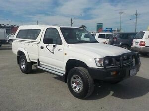 2004 Toyota Hilux White Manual Cab Chassis Pakenham Cardinia Area Preview