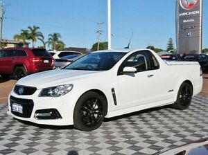 2014 Holden Ute VF MY14 SS V Ute Redline White 6 Speed Sports Automatic Utility Alfred Cove Melville Area Preview
