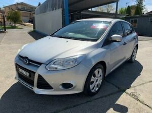 2012 Ford Focus LW Ambiente PwrShift Silver 6 Speed Sports Automatic Dual Clutch Hatchback Lansvale Liverpool Area Preview