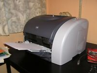 HP 2550LN Workgroup Color Laser Printer - excellent working condition