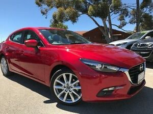 2016 Mazda 3 BN5438 SP25 SKYACTIV-Drive GT Red 6 Speed Sports Automatic Hatchback Melville Melville Area Preview
