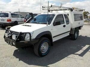 2011 Isuzu D-MAX White Manual Cab Chassis Pakenham Cardinia Area Preview