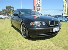 2003 BMW 316TI E46 316TI Black 5 Speed Manual Coupe Wangara Wanneroo Area Preview