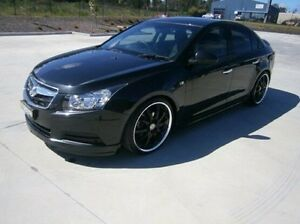 2010 Holden Cruze JG CD Black 5 Speed Manual Sedan Mitchell Bathurst City Preview