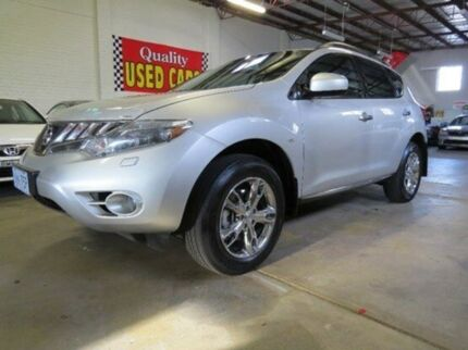 2009 Nissan Murano Z51 TI Silver 6 Speed Constant Variable Wagon Fyshwick South Canberra Preview