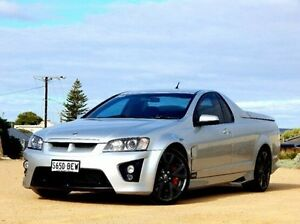 2008 Holden Special Vehicles Maloo E Series MY09 R8 Silver 6 Speed Sports Automatic Utility Christies Beach Morphett Vale Area Preview