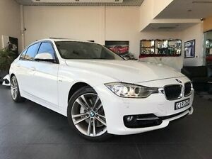 2012 BMW 335i F30 White 8 Speed Sports Automatic Sedan Summer Hill Ashfield Area Preview