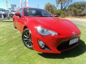 2014 Toyota 86 ZN6 GT Red 6 Speed Manual Coupe Mandurah Mandurah Area Preview