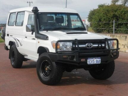 2012 Toyota Landcruiser VDJ78R MY10 GXL Troopcarrier French Vanilla 5 Speed Manual Wagon Yangebup Cockburn Area Preview