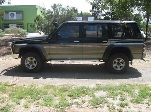 1990 Nissan Patrol GQ ST Black 4 Speed Automatic Wagon Beverley Charles Sturt Area Preview