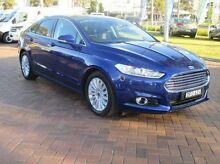 2015 Ford Mondeo MD Trend SelectShift Blue 6 Speed Sports Automatic Hatchback Baulkham Hills The Hills District Preview