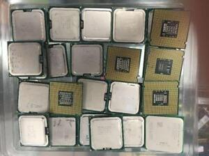 INTEL Desktop mobile pentium d ,core 2 duo e8400 xeon 5140 5130,i5-3470 i3 CPU