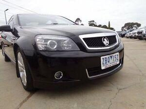2012 Holden Caprice WM II MY12.5 Black 6 Speed Automatic Sedan Melton Melton Area Preview
