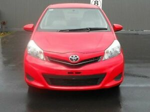 2012 Toyota Yaris NCP130R YR Red 4 Speed Automatic Hatchback Mount Gambier Grant Area Preview