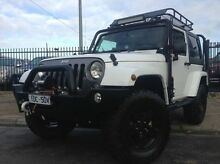 2014 Jeep Wrangler JK MY2015 X White 5 Speed Automatic Hardtop Dandenong Greater Dandenong Preview