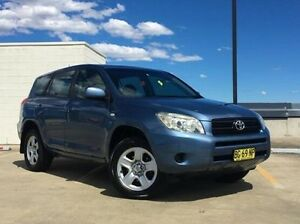 2008 Toyota RAV4 ACA33R MY09 CV Blue 4 Speed Automatic Wagon Kings Park Blacktown Area Preview