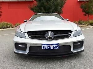 2004 Mercedes-Benz Sl600 R230 Silver 5 Speed Sports Automatic Roadster Cannington Canning Area Preview