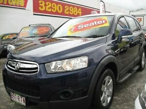 2011 Holden Captiva CG Series II 7 SX Blue 6 Speed Sports Automatic Wagon Underwood Logan Area Preview