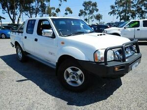 2014 Nissan Navara D22 S5 ST-R White 5 Speed Manual Utility Pearsall Wanneroo Area Preview